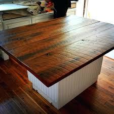 reclaimed wood kitchen butcher block cost prefab countertops diy