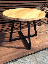32 inch round table elegant round table modern design steel and timber round dining solid diameter