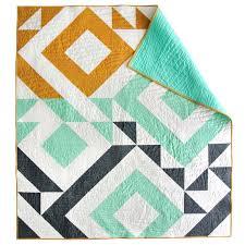 Modern Quilt Patterns Custom 48 Beautiful Modern Quilt Patterns Sew What Alicia