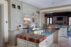white country kitchen with butcher block. White Country Kitchen With Butcher Block Walnut U