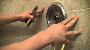 How To Repair A Moen Shower Faucet StepbyStep YouTube - Bathroom leak repair