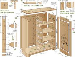 kitchen cabinet plans. Construction Plans And Parts List To Build Cabinets Run Of The A Kitchen Cabinet E