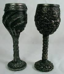 gothic wine glass skull skeleton goblet pair wine glass cup mug resin new bones wine glass gothic wine glass skull