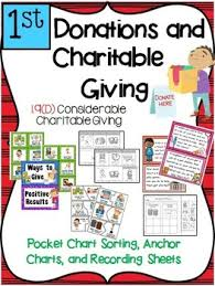 Financial Literacy Donations And Charitable Giving 1st