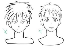 講座正面顔の描き方のコツと比率について