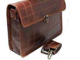 mens messenger bag 15 6 inch handmade vintage genuine leather bag