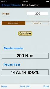 Inch Pounds To Newton Meters Chart Torque Calculator Units Conv