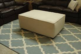 Diy Coffee Table Ottoman Diy Coffee Table Ottoman Turn A Into An How To Ro Thippo