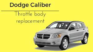Dodge Caliber Dash Warning Lights 2007 2012 Dodge Caliber Red Lightning Bolt Check Engine Light Throttle Body How To Replace