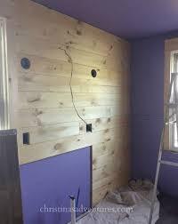 drywall for bathroom. Shiplap On The Drywall In Bathroom For