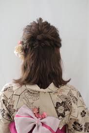 夏祭り向けヘアアレンジにチャレンジ自分でもできる髪型hair