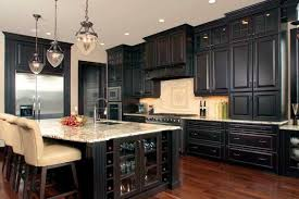 dark wood kitchen cabinets. It\u0027s The Elegant Choice That Is Usually Made By Owners Of High-end Houses. They Are Favored And Popular, So These Kitchens Won\u0027t Be Left Without Proper Dark Wood Kitchen Cabinets T