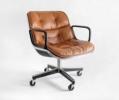 mid century modern office furniture. vintage knoll pollock executive armchair chair mid century modern eames office furniture o