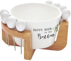 <b>Набор</b> для закуски Easy Life Kitchen Elements: чаша для оливок + ...
