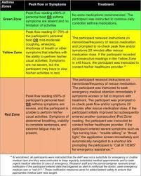 Asthma Zone Chart 11 Printable Asthma Action Plan Examples Pdf Examples