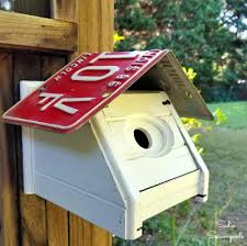 tissue box cover bird house