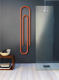 one of the best things about the graffe towel warmer is that you can mount it to the wall vertically or horizontally and it comes in some cool colors