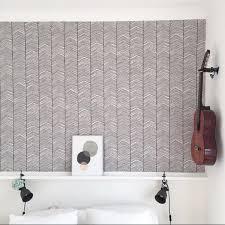 ferm living wallpaper. ferm living herringbone wallpaper living o