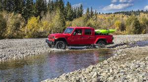 Ford Truck Comparison Chart 2020 Jeep Gladiator Vs Pickup Trucks From Chevy Ford
