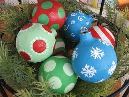 top crafty paper mache projects you can try for yourself christmas balls from blue cricket designs