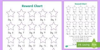 5 Day Reward Chart Editable Kiwi Toilet Training Sticker Reward Charts