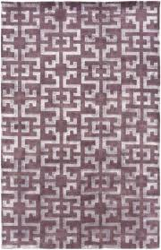 grand eggplant mauve geometric area rug colored rugs