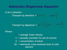 6 advection dispersion