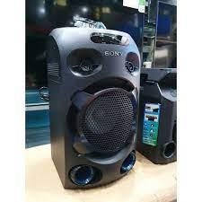 Loa Kéo SONY MHC-V02 Bass Siêu Trầm Dùng Điện Karaoke DVD Kết Nối Bluetooth  - Hàng Chính Hãng Bảo Hành 12 Tháng