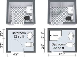 Small Picture The 25 best Small bathroom floor plans ideas on Pinterest Small