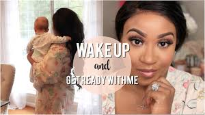 wake up and makeup blush look ft avon
