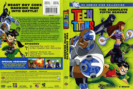 Teen titans season 5 dvd
