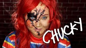 chucky makeup tutorial delaniamarvella