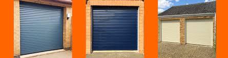 electric operated roller shutter garage door