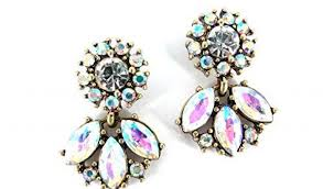 chandelier earring gold lovely chic fashion ab austrian crystal gold fashion bohemian boho by size handphone