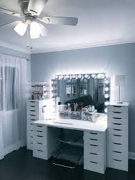 magnificent makeup vanity table ikea with 12 ikea makeup storage ideas youll love ikea makeup storage