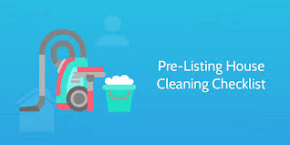 Pre Listing House Cleaning Checklist Process Street