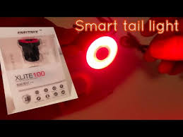 Very Smart <b>bike</b> Tail <b>light</b> XLITE-100 - YouTube