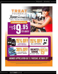 xsport fitness naperville menu