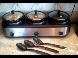 similiar walmart ge slow cooker keywords ge 3 crock slow cooker buffet review