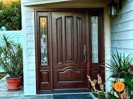jeld wen exterior doors dark wood front doors door inspirations craftsman style wen aurora fiberglass entry with sidelights installed gorgeous jeld wen