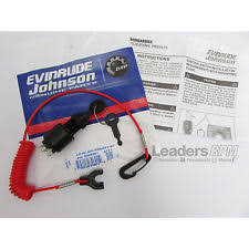 omc outboard ignition starting systems evinrude johnson brp new oem ignition key switch safety lanyard 5005801