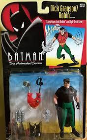 Amazon.com: Batman the Animated Series Dick Grayson - Robin Action Figure:  Toys & Games