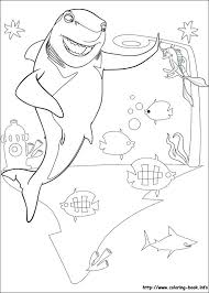 Small Picture Shark Tale Coloring Pages FunyColoring