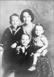 Myra and her 3 Sons