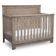 Simmons® Kids Slumbertime Monterey 4-in-1 Convertible Crib - Rustic ...