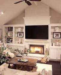 58 Home Entertainment Centers Ideas For Anyone Who Loves Entertaint. The  FireplaceLiving Room ... Home Design Ideas