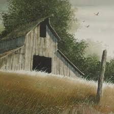 vintage barn painting and signs