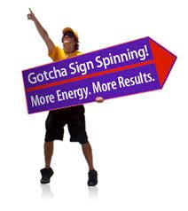 sign twirler sign spinner zoro braggs co