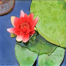 how to paint a lily flower
