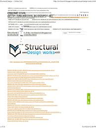 Structural Design ~ Online Civil